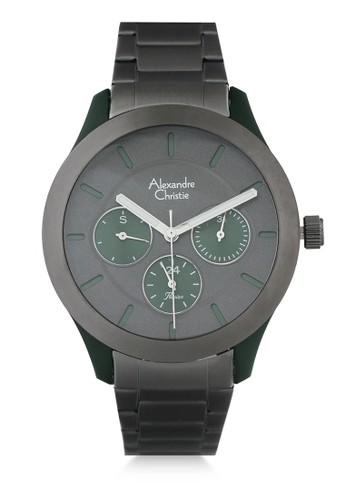 Alexandre Christie green Alexandre Christie Jam Tangan Wanita - Grey Green - Stainless Steel - 2877 BFBIGDGGN 38FF2AC377D9BFGS_1