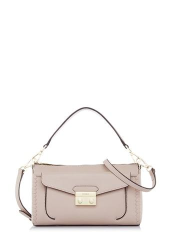 BONIA pink Blush Pink Broad Sling Bag FCDC7AC54EFF4AGS_1