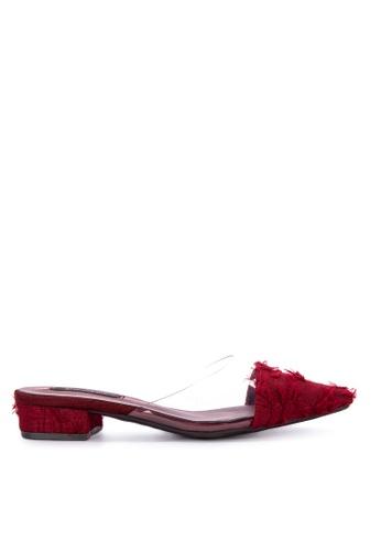 b373c8af392 Shop Primadonna Flat Pointed Toe Slides Online on ZALORA Philippines