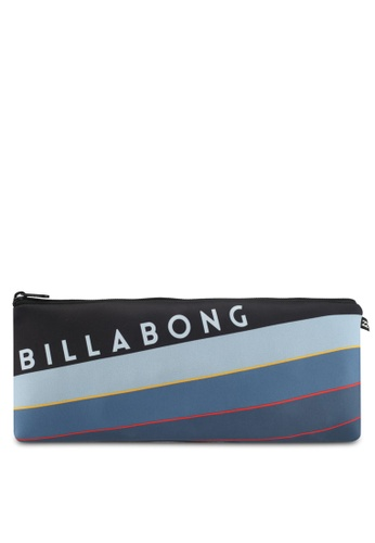 Billabong black and blue Northpoint Large Pencil Case BI783AC0SXSHMY_1