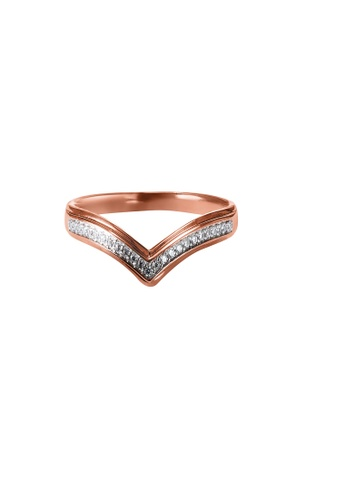 HABIB JEWELS HABIB V Rose Diamond Ring CB0A0ACFD477F2GS_1