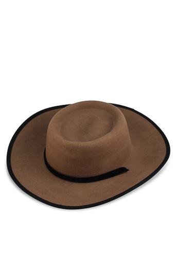 LOWRYS FARM brown Piping Sun Hat 084F2AC04B0C1CGS_1