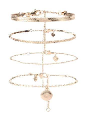 ALDO gold Frigodda Ankle Bracelet CD512AC69C1407GS_1