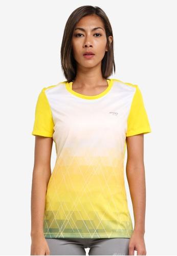 2GO yellow Round Neck Short Sleeve T-Shirt 2G729AA0S5XAMY_1