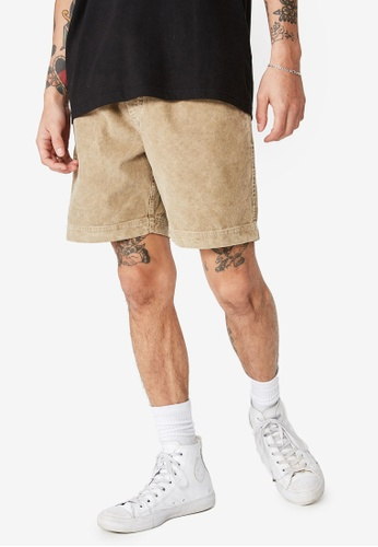Cotton On brown Street Volley Shorts ED6BFAA4989FFDGS_1