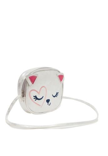 Aqua and White Micro Kitten Ears