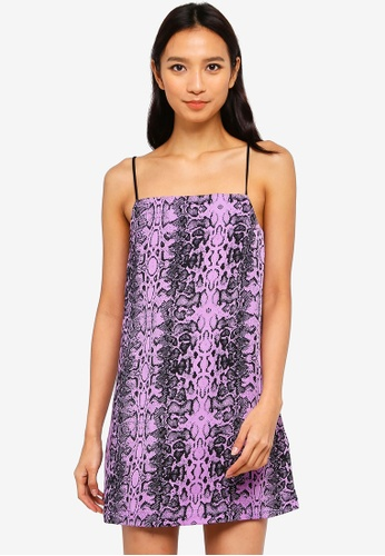 Factorie purple Slip Dress 73169AA6D0FF13GS_1