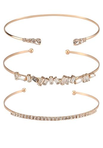 ALDO white Gollon Bracelet 0649FACEC84039GS_1