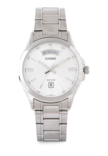 Casio silver Casio Jam Tangan Mtp-1381D-7AVDF Silver 47317AC7507216GS_1