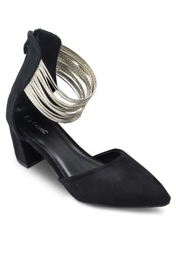 Covet 多帶繞踝尖頭高跟esprit童裝門市鞋, 女鞋, 細帶高跟鞋