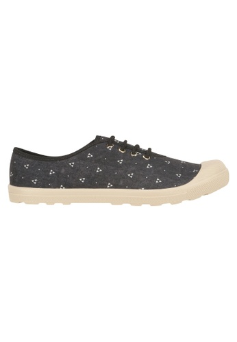 Beira Rio black and multi Cap In Lace Up Sneaker MO996SH03EVKHK_1