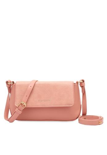 PLAYBOY BUNNY pink Women's Sling Bag / Shoulder Bag / Crossbody Bag D1B91ACF7786AFGS_1