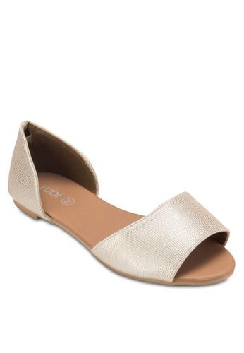 esprit 香港Lady Peep Toe Flats, 女鞋, 鞋