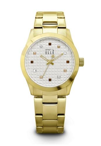 ELLE gold Fashion Ladies Watch SP241AC68LPNMY_1