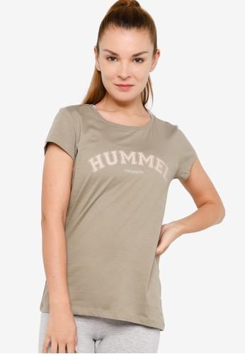 Hummel grey Cyrus T-Shirt 36159AAE5CF650GS_1