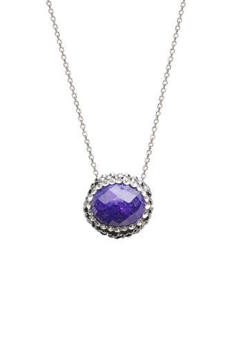 Fervor Montreal purple Fervor Montreal-Druzy Necklace Oval 25732ACF76378EGS_1