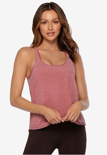 Lorna Jane pink Encounter Tank Top 27D3BAAA5704F5GS_1