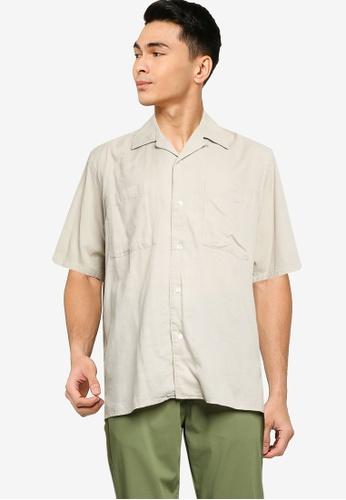 niko and ... brown Pocket Shirt A240CAA3C3A6E5GS_1