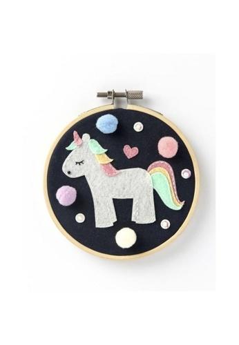 Klosh Felt Embroidery Kit - Unicorn A7834HL63F93B7GS_1