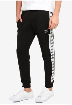 ad6520bba adidas black adidas originals light pants trefoil tape 94FBFAA8F53CB5GS_1