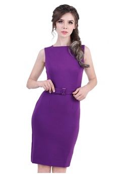 9d2fc32bcfe8 DreamTales Wardrobe purple Boatneck Bodycon Dress EDF53AA0ECD673GS_1