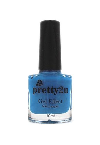 Pretty2u blue Gel Effect Nail Lacquer 13 PR716BE11WQQMY_1