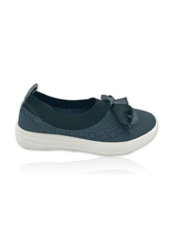 Unifit grey Unifit Knitted Flats A3646SH34751D3GS_1