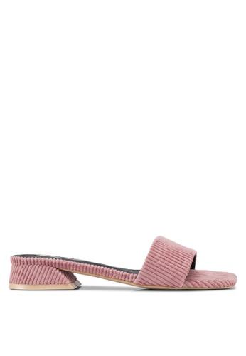 Nose pink Slide On Sandals 12DDASH90E410AGS_1