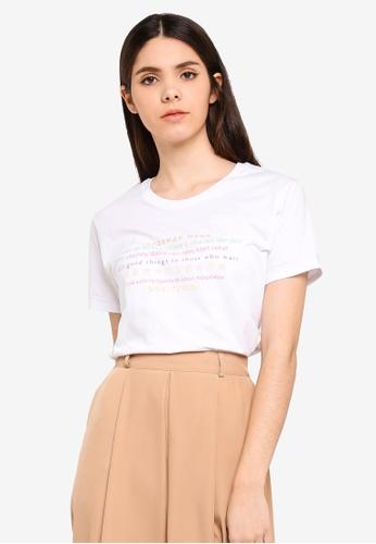 Cotton On white Tbar Fox Graphic T-Shirt 05666AAFA205BFGS_1