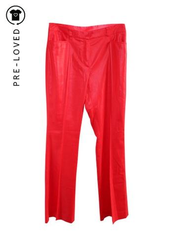 Paul & Joe red Pre-Loved paul joe Vibrant Red Pants 72941AA1CF0D69GS_1