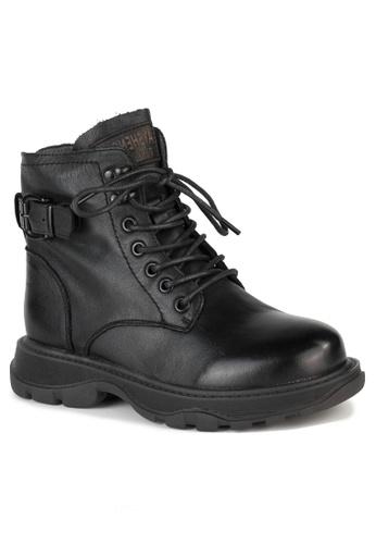 Twenty Eight Shoes Fashionable Lace Up Calfskin Boots T57560-2 FAA07SHF3F93ADGS_1