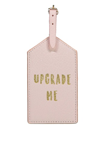 Typo pink Luggage Tag 8714EAC9C5E8B8GS_1