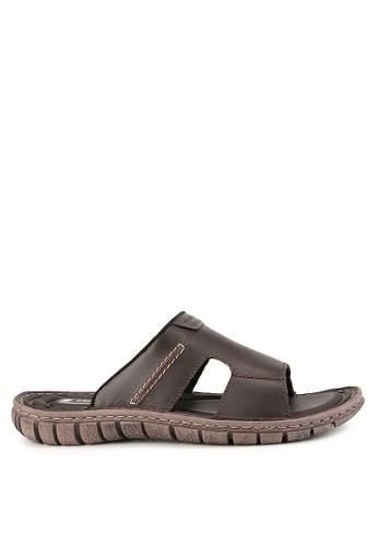 Pakalolo Boots brown Sandal Y07215 B1834SHF6DCFC0GS_1