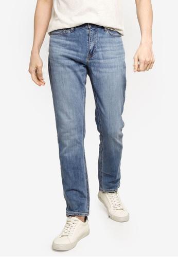 Banana Republic 藍色 修身Organic 牛仔褲 AA8C7AA81D6B73GS_1