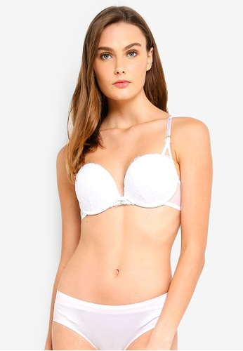 Ann Summers white Sexy Lace 2 Boost Bra 876F5USB1302B4GS_1