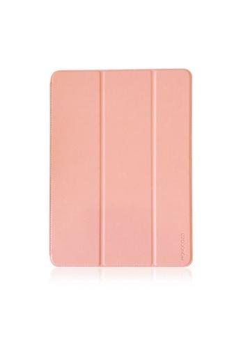 "Monocozzi pink LUCID PLUS FOLIO - SHOCK RESISTANT DETECHABLE FOLIO CASE FOR IPAD PRO 10.5"" - CORAL 51332AC3EFADF3GS_1"