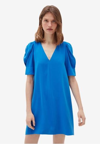OVS blue Basic Dress A60B4AA12E15ACGS_1