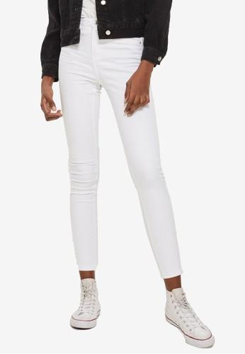 TOPSHOP 白色 Moto White Jamie Jeans 5E9B2AA713A4FBGS_1