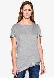 Esprit grey Short Sleeve T-Shirt ES374AA0SAYIMY_1