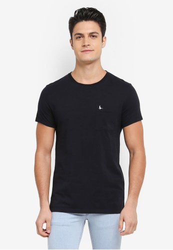Jack Wills black Ayleford T-shirt FB71EAAA8F27E9GS_1