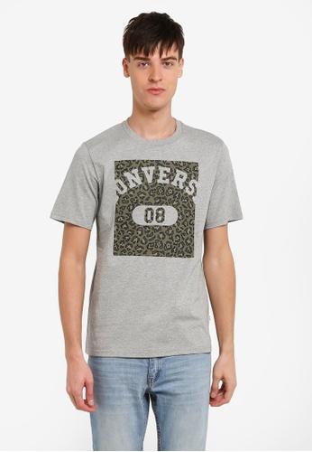Converse grey Leopard Pill 08 T-Shirt CO302AA0RZZ7MY_1