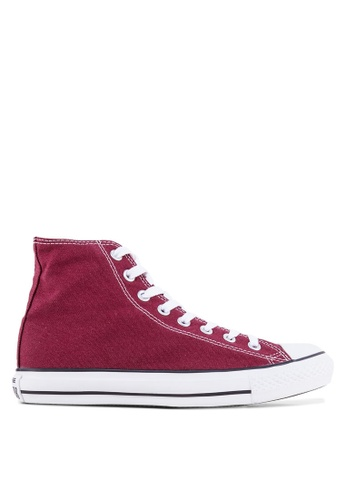 Converse purple Chuck Taylor All Star Seasonal Core Sneakers Hi CO302SH46OCZMY_1