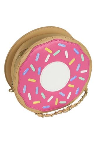 Dazz pink Donut Crossbody Bag DA408AC03FVGMY_1