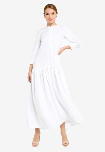 REALFANTASY white Inaya Dress White F6BCCAAFA4B175GS_1