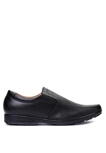 Gibi black Men's Dress Shoes GI342SH25UWKPH_1