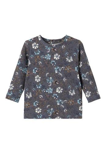 NAME IT grey Nellal Long Sleeves T-Shirt 4A530KA400AE35GS_1