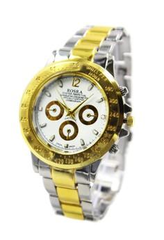 Rosra Evan-W Unisex Stainless Steel Strap Watch