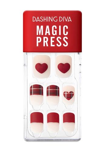 Dashing Diva pink Dashing Diva 1 SEC. MAGIC PRESS Manicure Better Than Heart / Press on Nails /Nail Tips BF236BE7832A23GS_1