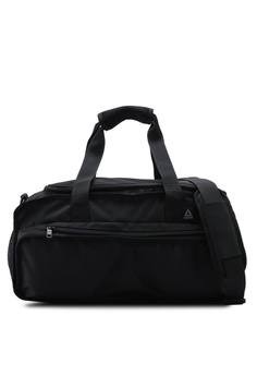 3afc9141fa Reebok black Training Mid Active Enhanced Convertible Grip Medium Bag  1869FACBF802ECGS_1