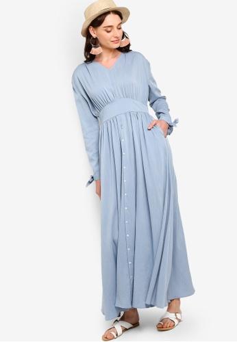 Zalia blue Prairie Dress 62044AA21F2D2FGS_1